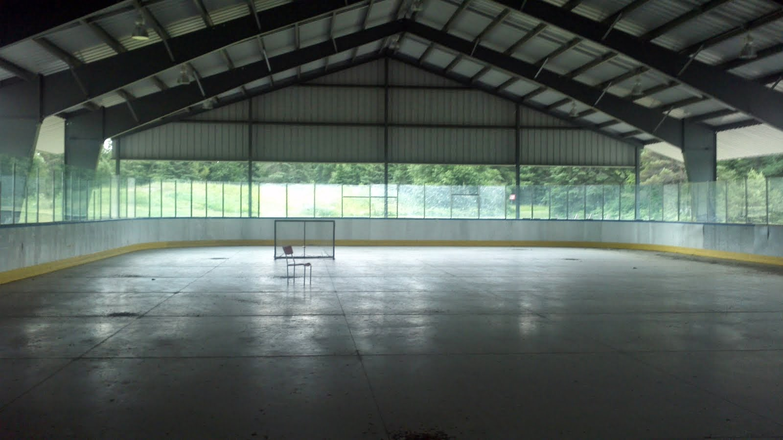 KW Bike Polo Club: Outdoor Covered Rink