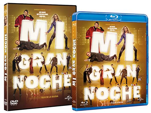 A la venta en DVD y Blu-ray 'Mi gran noche' de Álex de la Iglesia