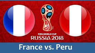 france-vs-peru مشاهدة مباراة فرنسا والبيرو بث مباشر