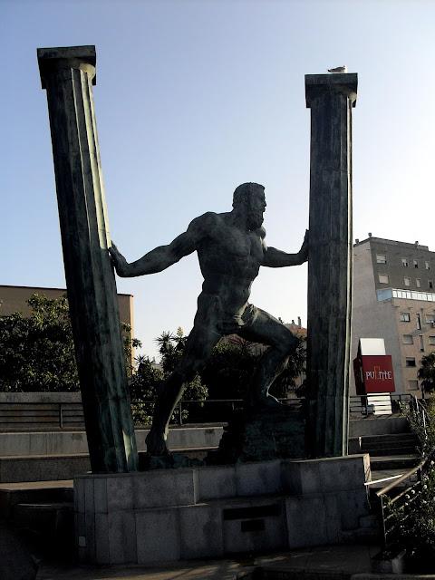 Las columnas de Hércules en Ceuta