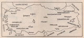Anadolu Türk Beylikleri Hangileridir?