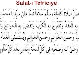 Salat-ı Tefriciye Duası Türkçe Okunuşu ve Arapça Okunuşu