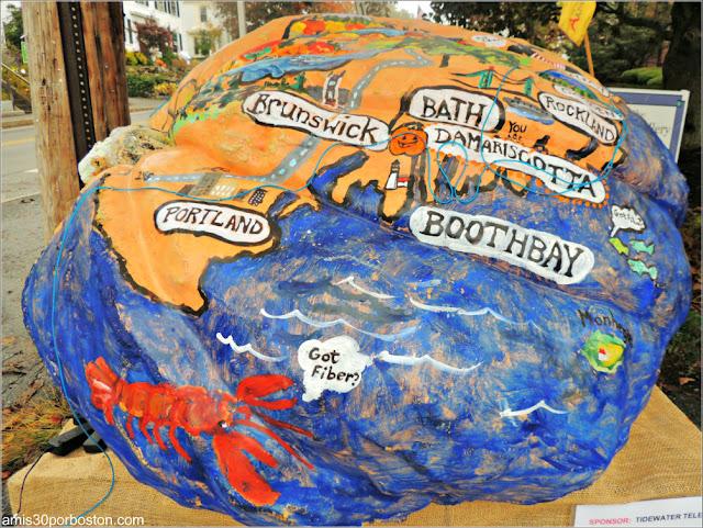 Calabazas Decoradas para Halloween: Mapa Regional