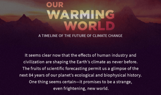 Our Warming World: The Future Of Climate Change