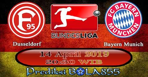 Prediksi Bola855 Dusseldorf vs Bayern Munich 14 April 2019