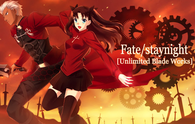 Fate/stay night: Unlimited Blade Works S1 + S2 + OVA Subtitle Indonesia Batch Download