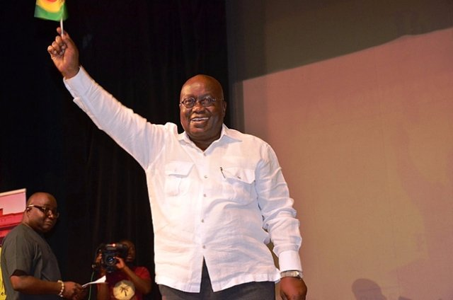 Akufo-Addo winner of 2016 election - Joy News projects