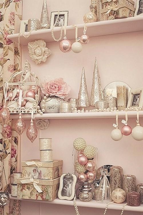 Enfeites de Natal Rosa - Pink Christmas Ornaments