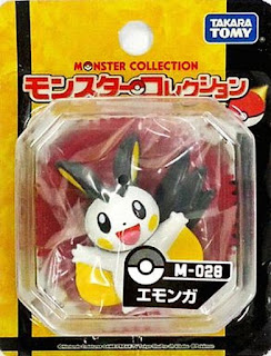Emolga figure Takara Tomy Monster Collection M series