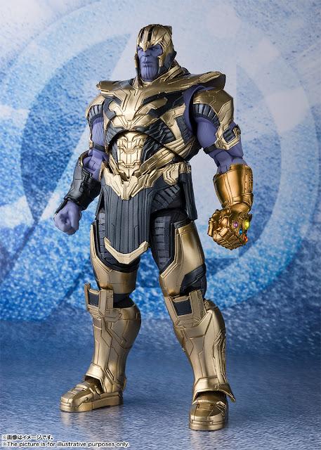 Figuras: Imágenes y detalles de los nuevos S.H.Figuarts thanos de Avengers: Endgame - Tamashii Nations