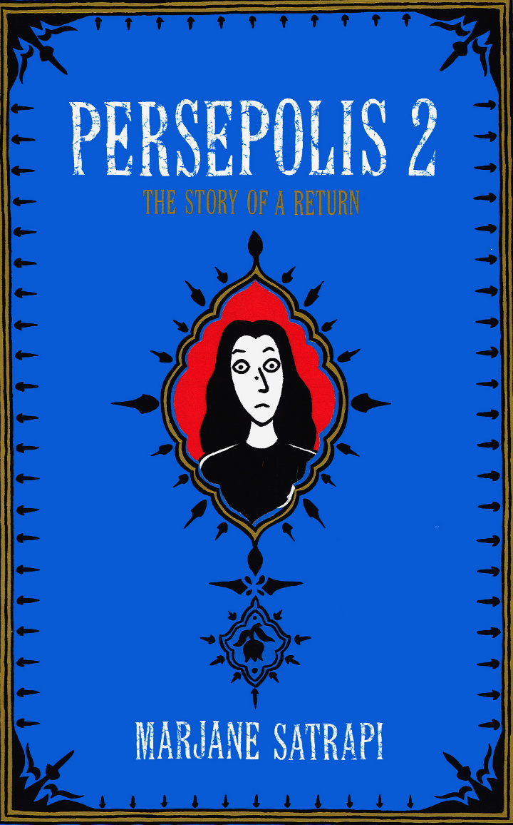 Read Cover Page from Marjane Satrapi's Persepolis 2 - The Story of a Return