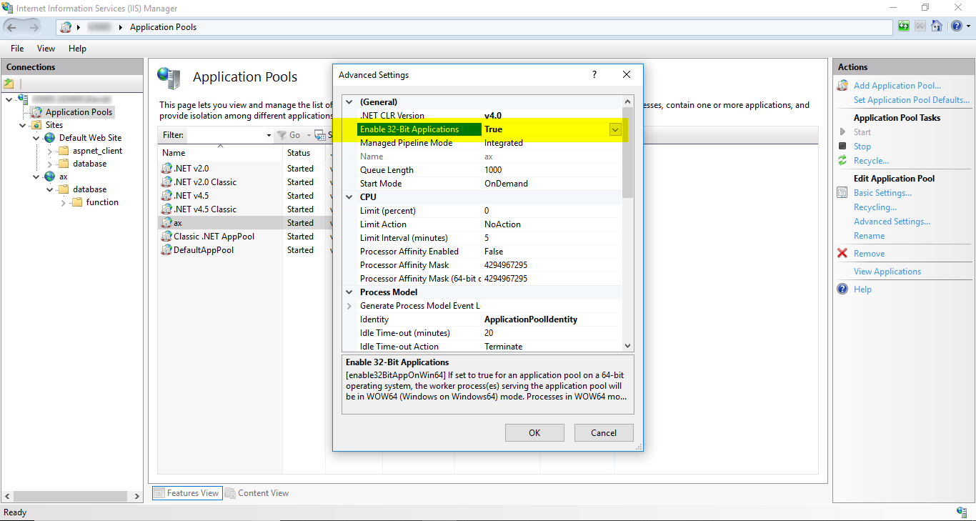 David Tsang's Blog: Using ODBC with classic ASP in IIS