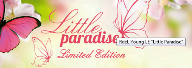 Preview Rival de Loop Young Little Paradise - Limited Edition (LE) - März 2016
