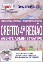 Apostila Crefito-MG Agente Administrativo - Conselho Regional de Fisioterapia de Minas Gerais.