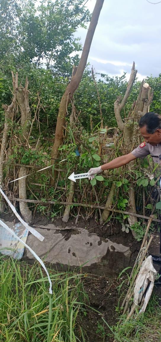 Penemuan Mayat di Sawah Gegerkan Warga Karangbendo