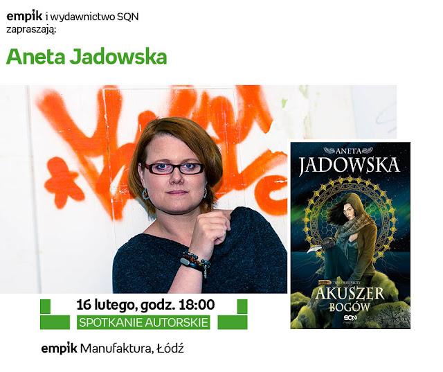 Aneta Jadowska i Matka Polka Feministka w łódzkim Empiku