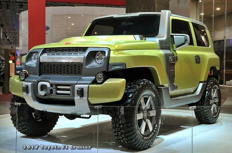 Toyota FJ Cruiser Redesign 2017, Release date and Price