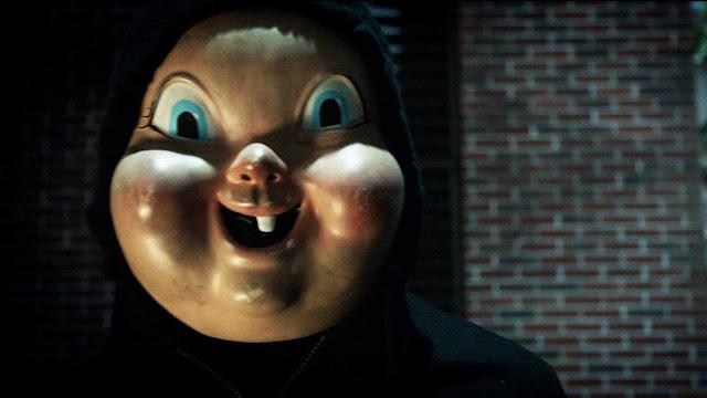 Vous trouvez le masque très con ? Moi aussi. happy birthdead happy death day mask