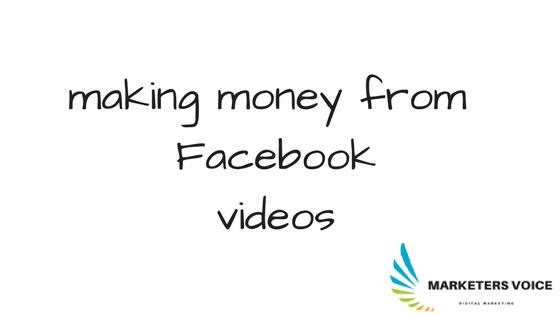 الربح من نشر الفيديوهات على الفيس بوك 2017