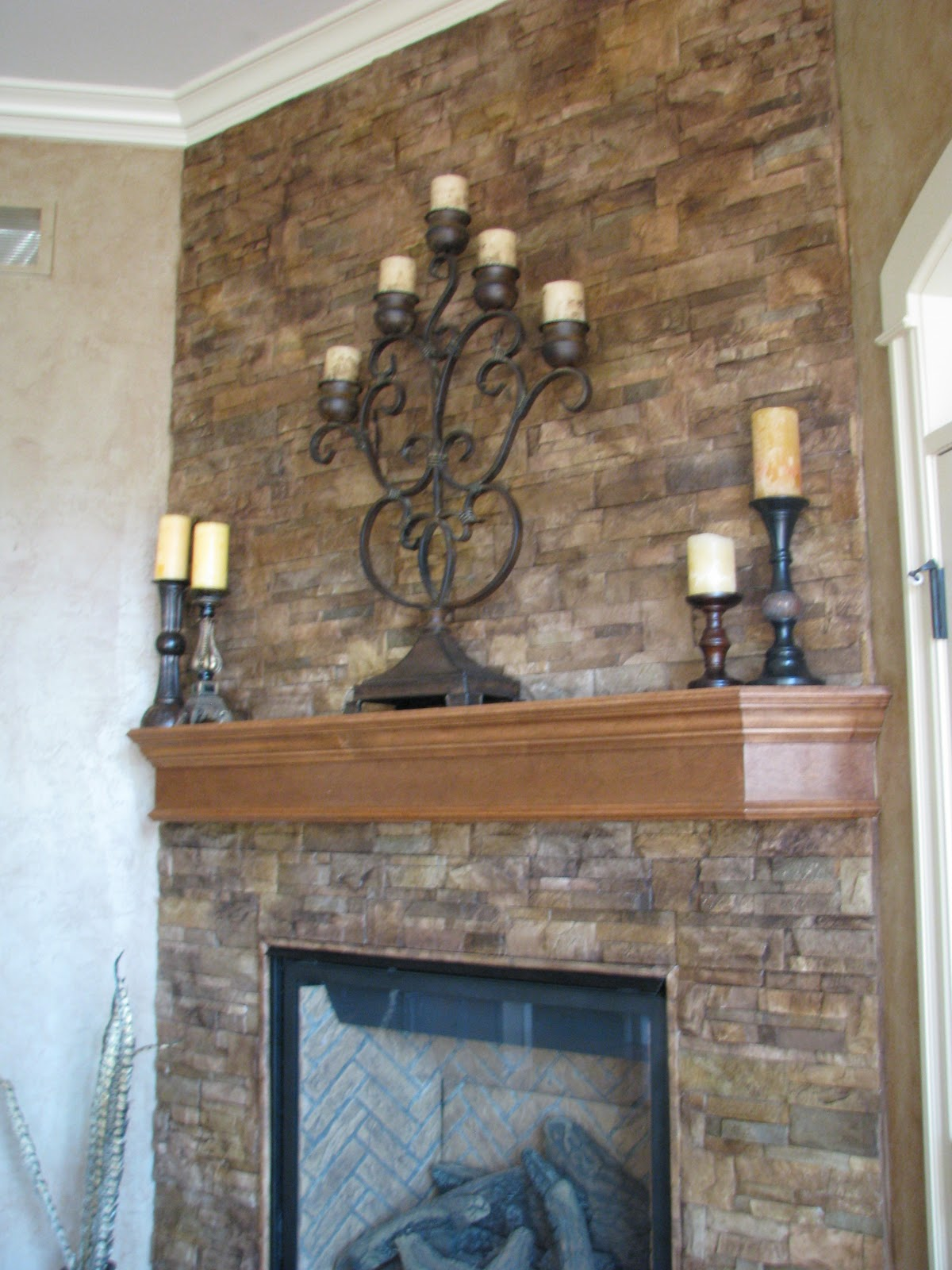 We Can Paint Stain Your Brick Stone Fireplace