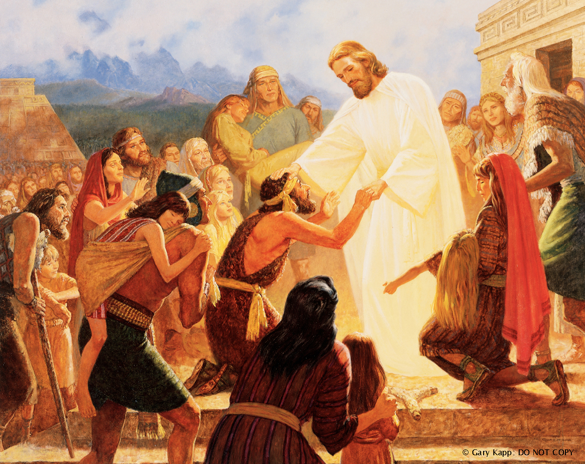 Savior 3 Nephi 17