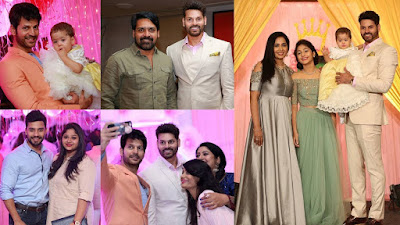 sridhar-rao-vidhya-rao-Laghima-raina-birthday-celebration