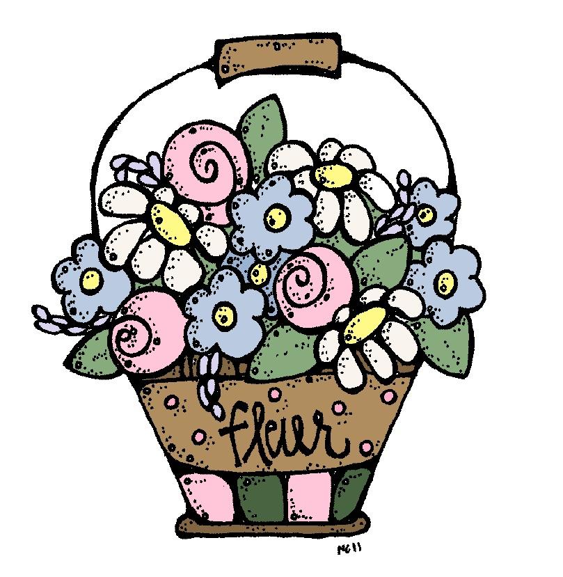 melonheadz pail of flowers lds clipart baptism lds clipart primary children