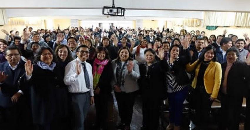MINEDU pone en marcha programa de inducción para docentes noveles - www.minedu.gob.pe