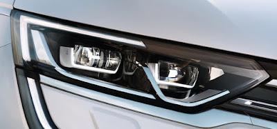 New 2017 Renault Koleos Facelift pure LED headlight Hd Photos