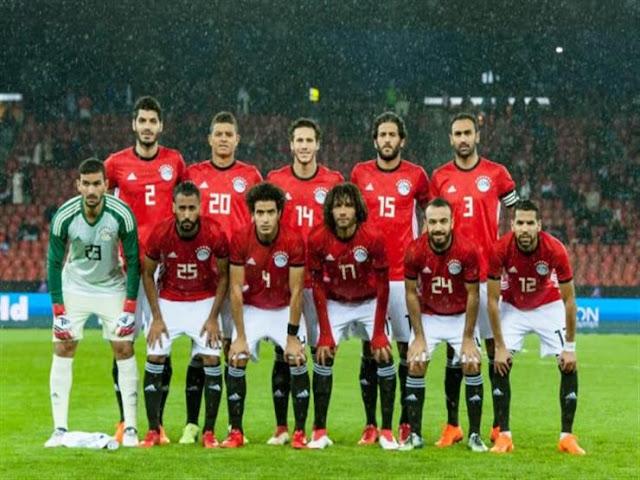 نتيجة مباراة المنتخب المصري ومنتخب كولومبيا الودية وغياب محمد صلاح