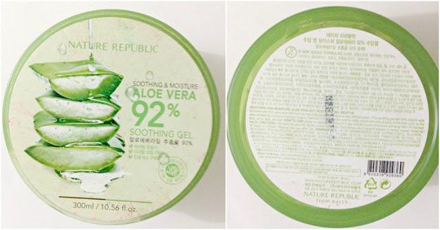 Nature Republic Aloe Vera 92 Soothing Gel 6
