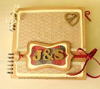 http://www.arteartesaniaymanualidades.com/2015/02/libro-de-firmas-scrapbooking-y-letras.html#more
