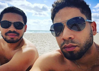 Jussie Smollett Beach