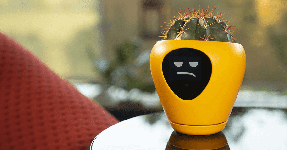 This Planter Transforms Plants Into Tamagotchi-Like Pets