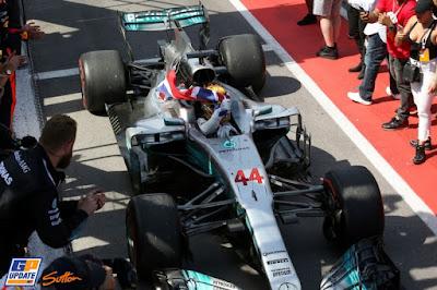 Pelo GP de Monza deu Hamilton na ponta e na liderança da Fórmula 1