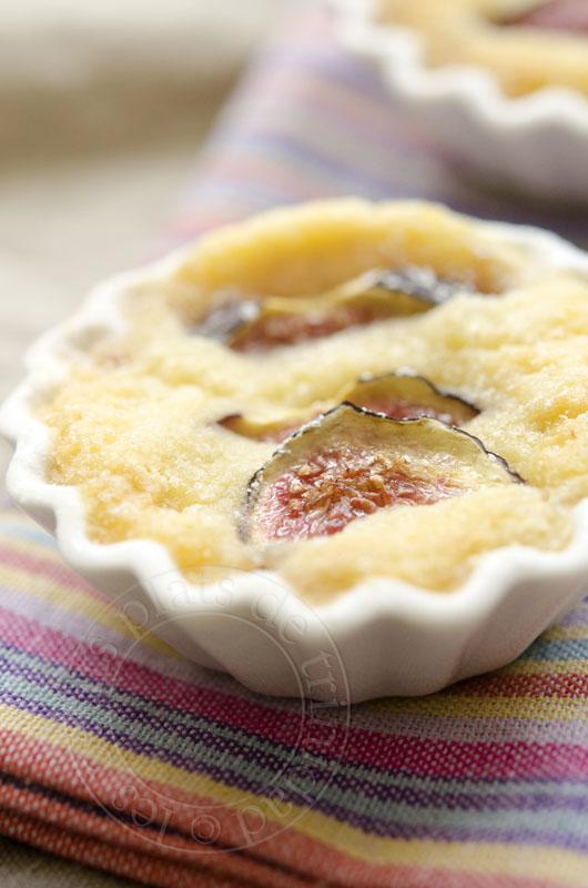 les petits plats de gratin de figues au mascarpone et au zeste de cl 233 mentine