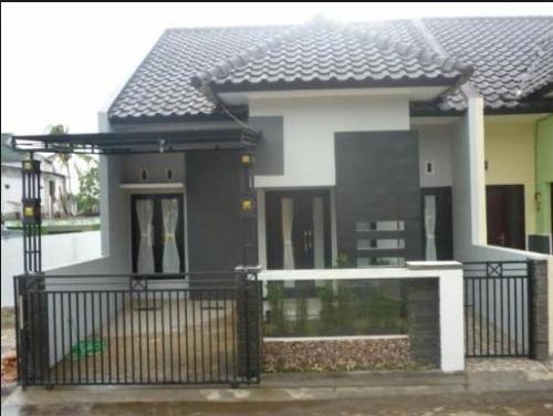 Model - Model Rumah Sederhana Yang Terlihat Ditengah Kota Jakarta