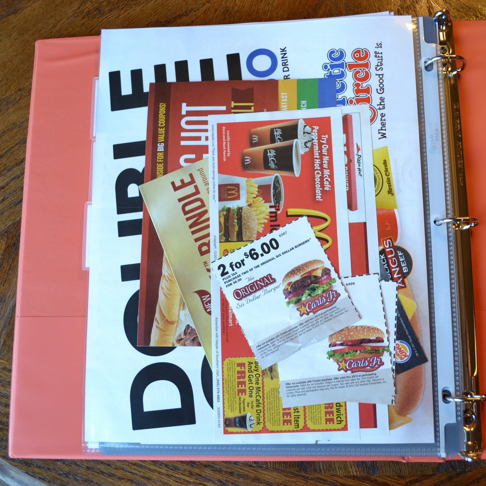 Tips For Getting Organized Take Out Menu Planner