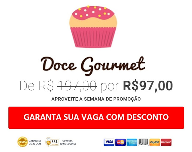 promoção doce gourmet