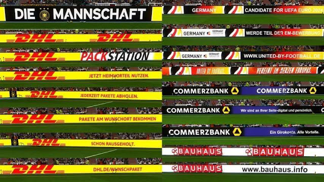Germany National Adboards PES 2018