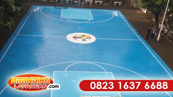 Jasa Cat Lapangan Basket, Jasa Pengecatan Lapangan Basket, Jasa Pengecatan lapangan Futsal, Jasa Pengecatan Lapangan Tenis