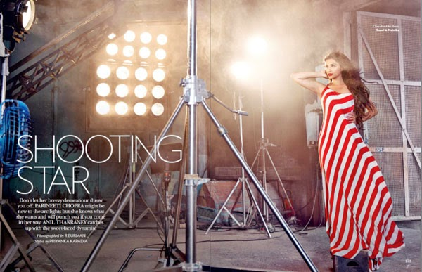 Parineeti_Chopra-Vogue-Magazine-red-white-strips-dress
