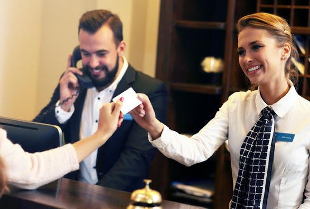Carta di credito in hotel
