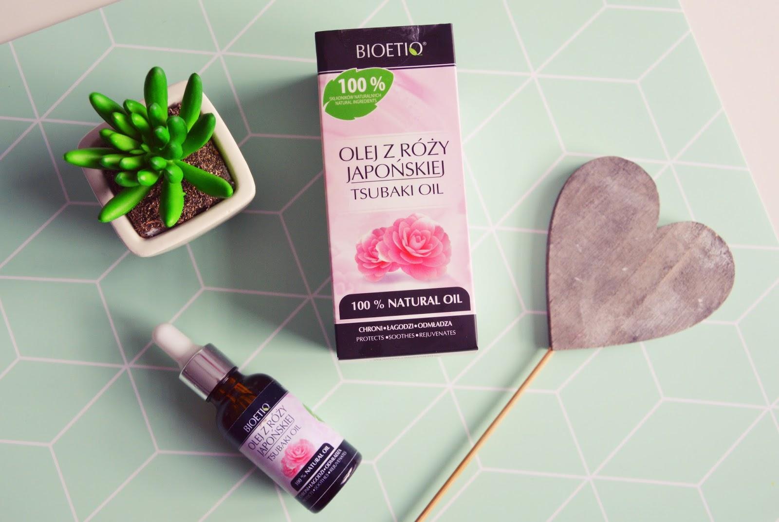 Olej z róży japońskiej od BIOETIQ  - piękno tkwi w naturze!