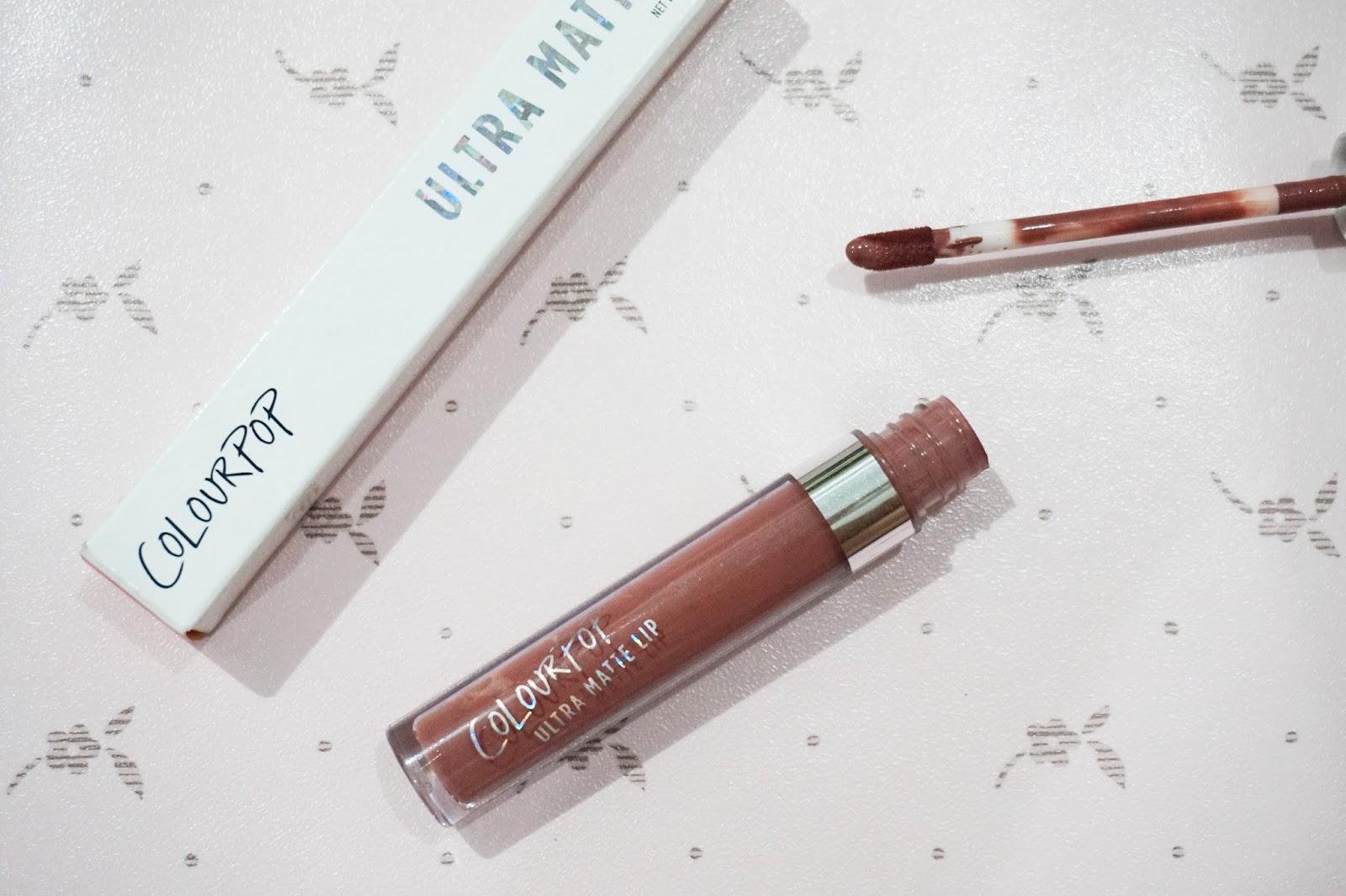 colourpop ultra matte lip in beeper