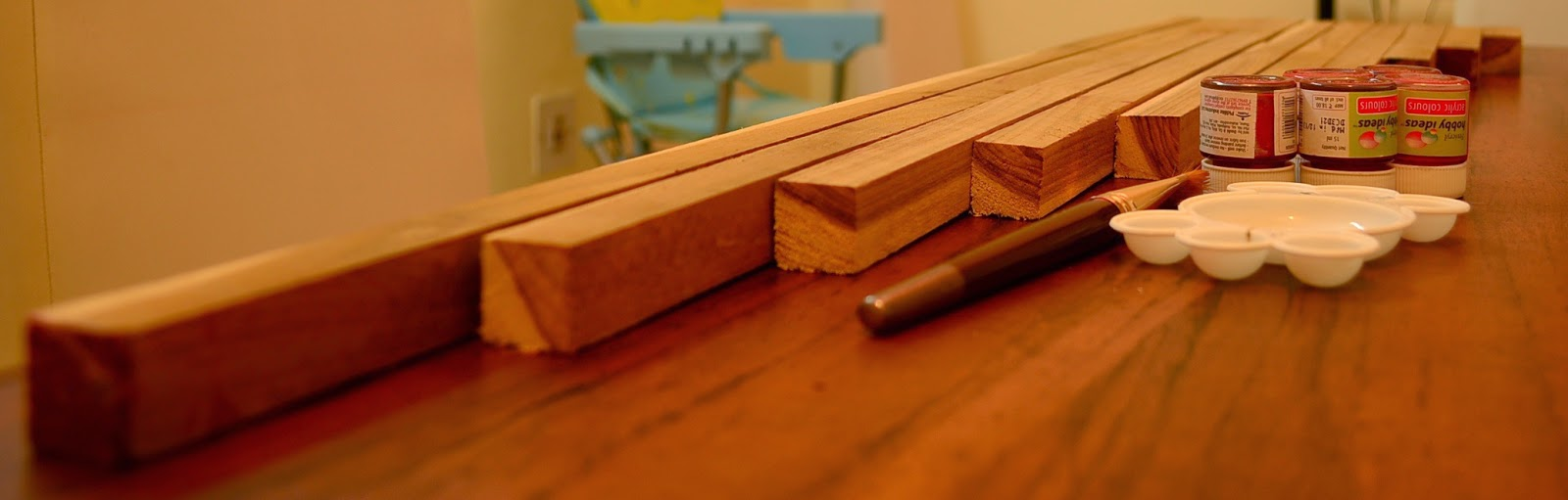 DIY Montessori Red Rods: & other size discrimination activities