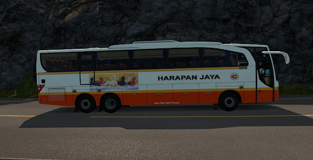 mod jetbus HD ets2 bus Harapan jaya