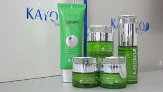 Bộ mỹ phẩm kayoko với 5 sản phẩm giúp trắng da hiệu quả