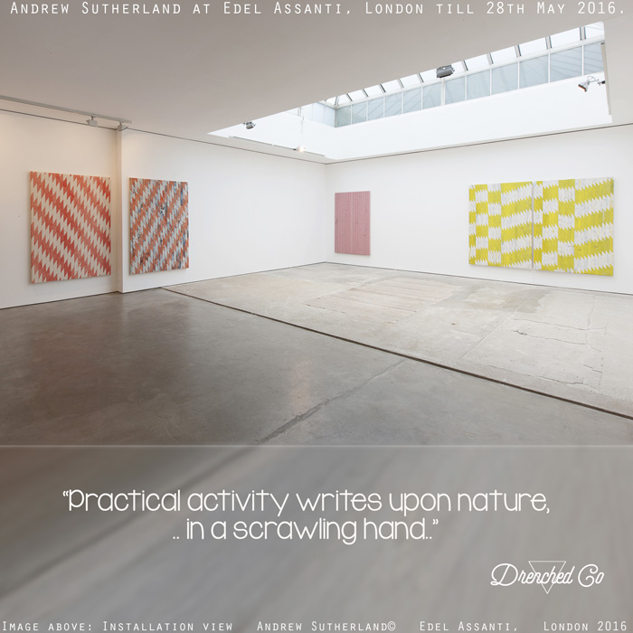 Image of Edel Assanti, London with art exhibition review by Drenched Co.