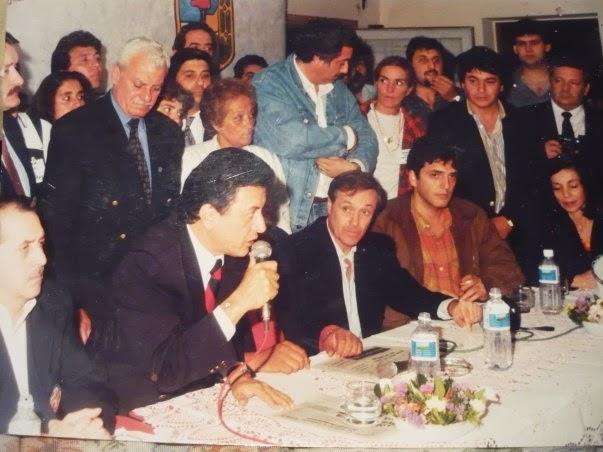 Sergio Massa y Palito Ortega